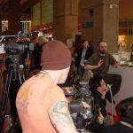 Silence, on tourne ! Les caméras d'Alerte Orange et d'Adobe ont rejoint la conférence.