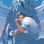 Kalish devant Babel, une des images de Denis exposées