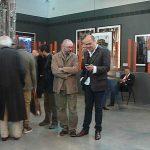 Avec Régis Cotentin, le commissaire de l'expo