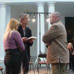 Avec François Schuiten discutent longuement après la conférence
